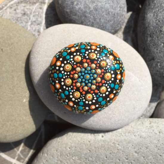 naturestone blacky dotpainting